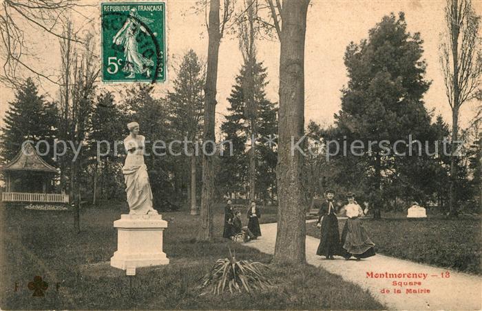 AK / Ansichtskarte Montmorency Square de la Mairie Kat. Montmorency