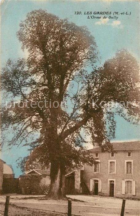 AK / Ansichtskarte Les Gardes Orme de Sully Kat. Saint Georges des Gardes