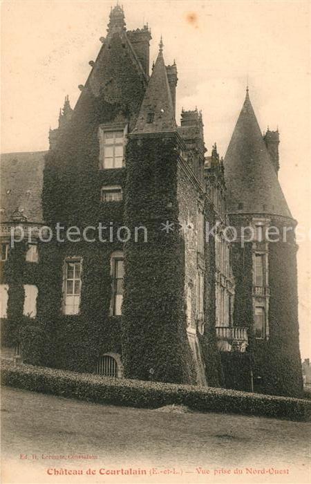AK / Ansichtskarte Courtalain Chateau de Courtalain Kat. Courtalain