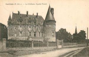 AK / Ansichtskarte Courtalain Le Chateau facade Ouest Kat. Courtalain