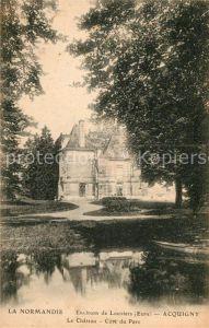 AK / Ansichtskarte Acquigny Le Chateau Core du Parc Kat. Acquigny