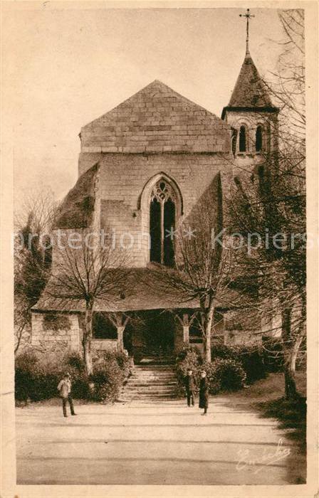 AK / Ansichtskarte Gennes Maine et Loire Eglise St Veterin et son Auvent Kat. Gennes