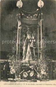 AK / Ansichtskarte Les Gardes Notre Dame des Gardes couronnee le 8 Sept 1873 Kat. Saint Georges des Gardes