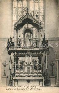 AK / Ansichtskarte Les Gardes Interieur du Sanctuaire de Notre Dame des Gardes Kat. Saint Georges des Gardes