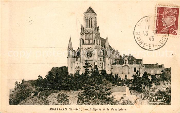 AK / Ansichtskarte Montjean sur Loire Eglise et le Presbytere Kat. Montjean sur Loire