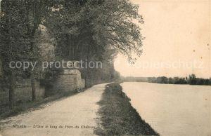 AK / Ansichtskarte Neuville Correze Oise le long du Parc du Chateau Kat. Neuville