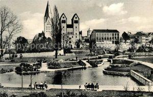 AK / Ansichtskarte Paderborn Paderquellgebiet Kirche Kat. Paderborn
