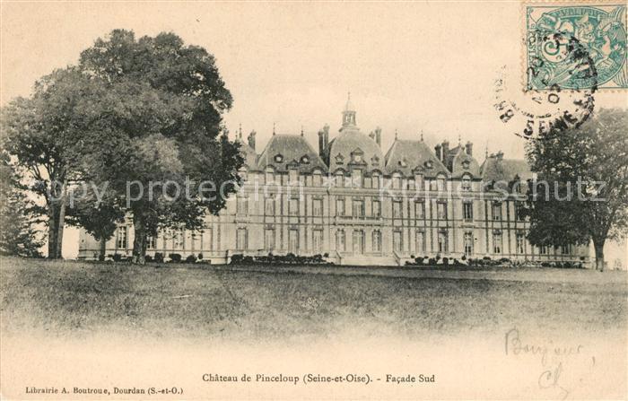 AK / Ansichtskarte Chateau de Pinceloup Chateau