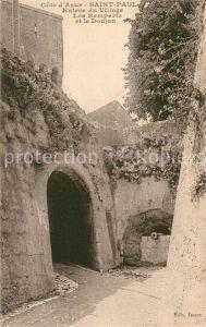 AK / Ansichtskarte Saint Paul Cote d Azur Entree du Village