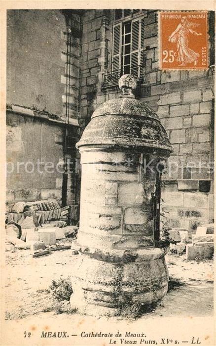 AK / Ansichtskarte Meaux Seine et Marne Cathedrale  Kat. Meaux