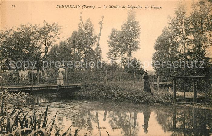 AK / Ansichtskarte Seignelay Moulin les Vannes Kat. Seignelay