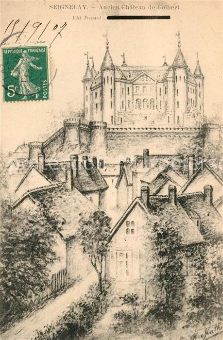 AK / Ansichtskarte Seignelay Chateau de Colbert Kat. Seignelay