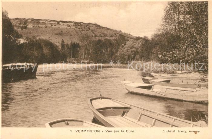 AK / Ansichtskarte Vermenton Vue sur la Cure Boote Kat. Vermenton