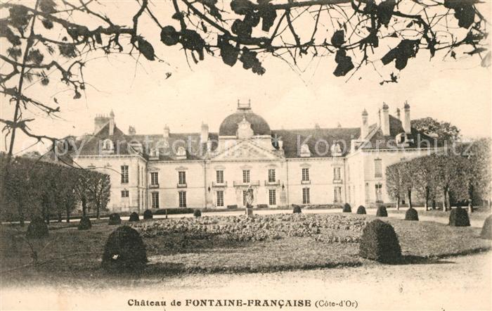 AK / Ansichtskarte Fontaine Francaise Chateau Kat. Fontaine Francaise