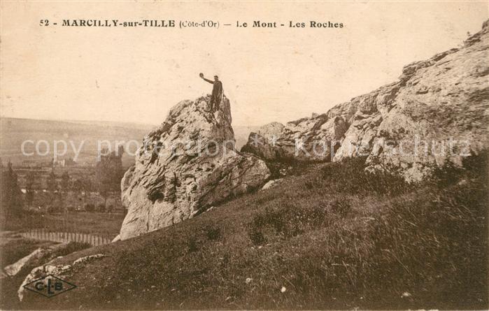 AK / Ansichtskarte Marcilly sur Tille Le Mont Les Roches Kat. Marcilly sur Tille