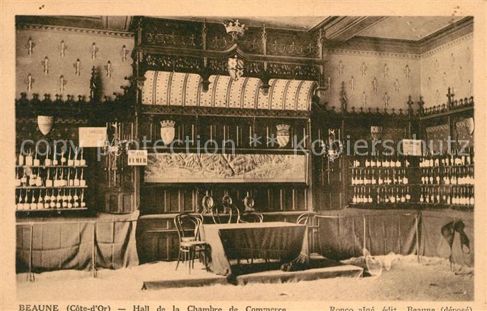AK / Ansichtskarte Beaune Cote d Or Burgund Hall de la Chambre de Commerce Kat. Beaune