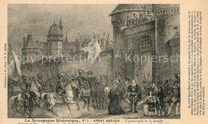 AK / Ansichtskarte Arnay le Duc avant veille de la bataille Kat. Arnay le Duc