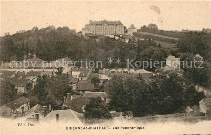 AK / Ansichtskarte Brienne le Chateau Vue panoramique Kat. Brienne le Chateau