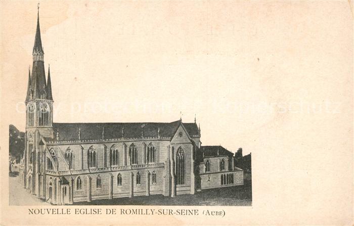 AK / Ansichtskarte Romilly sur Seine Nouvelle Eglise  Kat. Romilly sur Seine