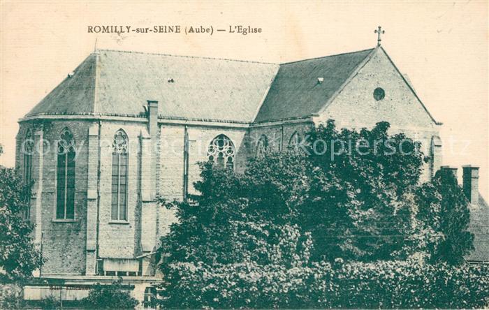 AK / Ansichtskarte Romilly sur Seine Eglise Kat. Romilly sur Seine