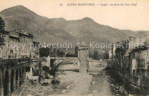 AK / Ansichtskarte Sospel Vue prise du Pont Neuf Kat. Sospel