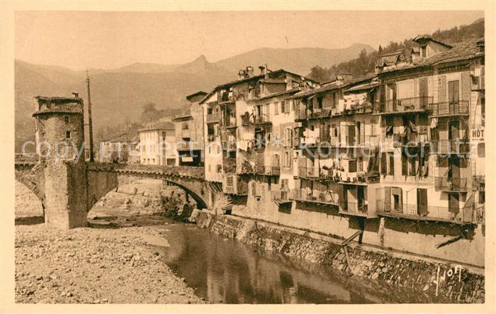 AK / Ansichtskarte Sospel Vieilles Maisons sur la Bevera Kat. Sospel