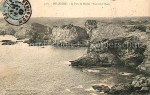 AK / Ansichtskarte Belle Isle en Terre Le Port de Herlin Vue vers l Ouest Kat. Belle Isle en Terre