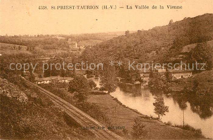 AK / Ansichtskarte Saint Priest Taurion La Vallee de la Vienne Kat. Saint Priest Taurion