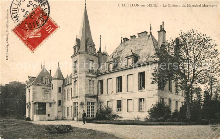 AK / Ansichtskarte Chatillon sur Seine Chateau du Marechal Marmont Kat. Chatillon sur Seine