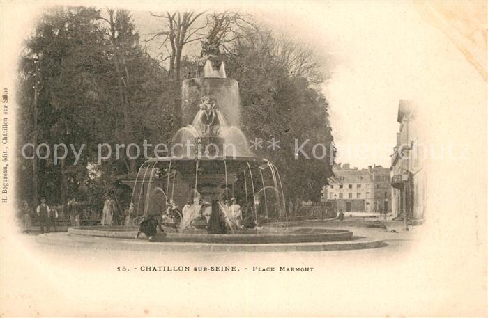 AK / Ansichtskarte Chatillon sur Seine Place Marmont Kat. Chatillon sur Seine