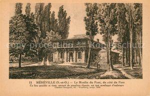AK / Ansichtskarte Mereville Meurthe et Moselle Le Moulin du Pont Kat. Mereville