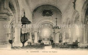 AK / Ansichtskarte Luzarches Interieur de l Eglise Kat. Luzarches