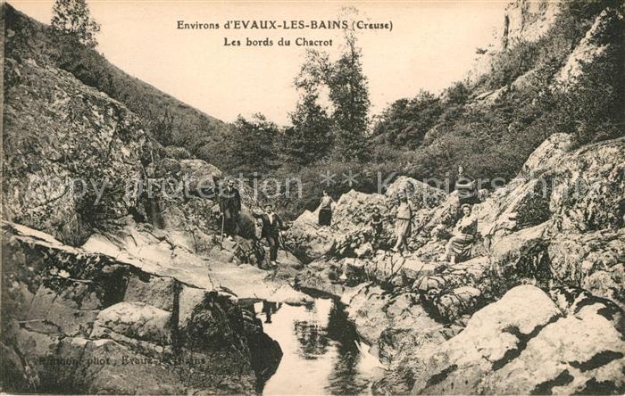 AK / Ansichtskarte Evaux les Bains Les bords du Chacrot Kat. Evaux les Bains