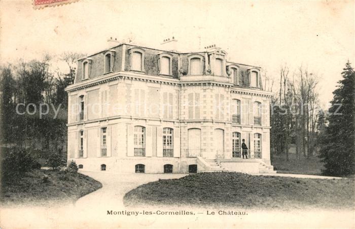 AK / Ansichtskarte Montigny les Cormeilles Le Chateau Kat. Montigny les Cormeilles