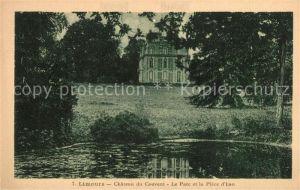 AK / Ansichtskarte Limours Chateau du Couvent Le Parc et la Piece d Eau Kat. Limours