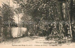 AK / Ansichtskarte Epinay sur Orge Chateau de Sillery La Cascade Kat. Epinay sur Orge