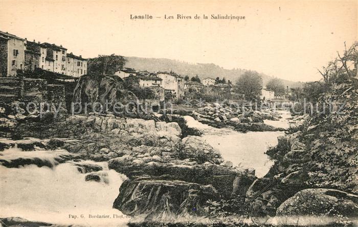 AK / Ansichtskarte Lasalle Les Rives de la Salindrinque Kat. Lasalle