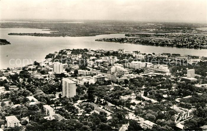 AK / Ansichtskarte Abidjan Fliegeraufnahme Quartier Residentiel Kat. Abidjan