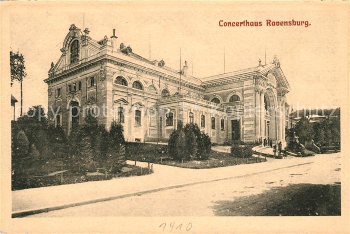 AK / Ansichtskarte Ravensburg Wuerttemberg Konzerthaus Kat. Ravensburg
