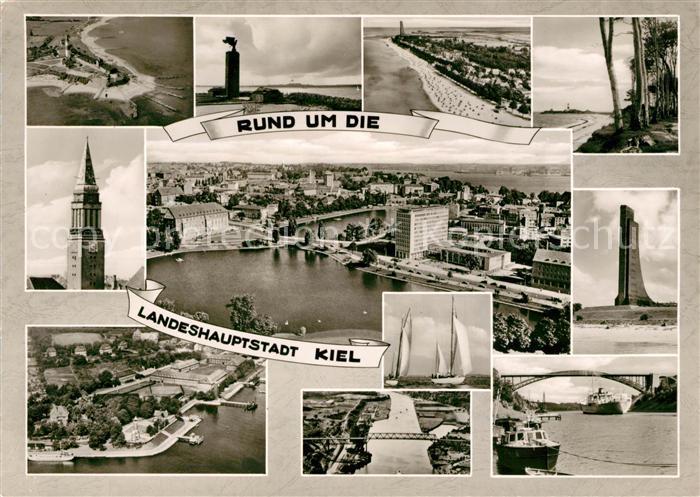 AK / Ansichtskarte Kiel Rund um die Landeshauptstadt Kat. Kiel