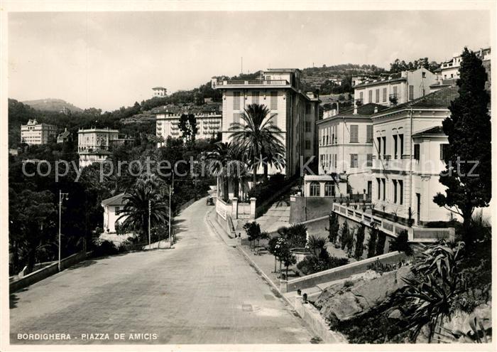 AK / Ansichtskarte Bordighera Piazza de Amicis Kat. Bordighera