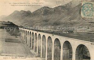 AK / Ansichtskarte Grenoble Ligne de Grenobel a Gap Viaduc de Vit Kat. Grenoble