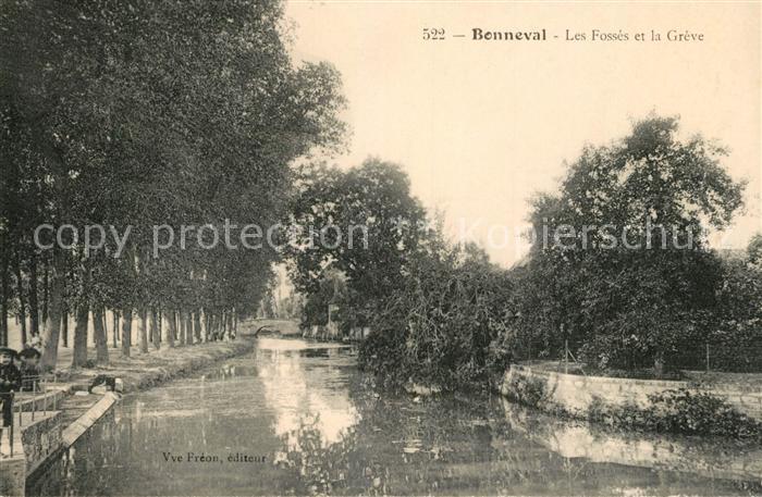 AK / Ansichtskarte Bonneval d Eure et Loir Les Fosses et la Greve Kat. Bonneval