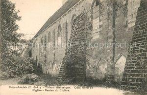 AK / Ansichtskarte Thiron Gardais Eglise  Kat. Thiron Gardais
