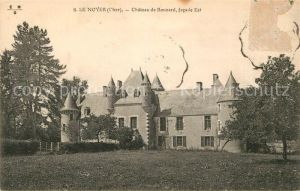 AK / Ansichtskarte Le Noyer Cher Chateau de Boucard Kat. Le Noyer