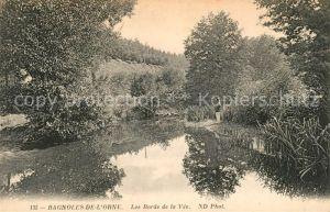 AK / Ansichtskarte Bagnoles de l Orne Les Bords de la Vee  Kat. Bagnoles de l Orne