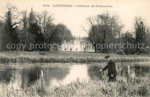 AK / Ansichtskarte Louviers Eure Chateau de Pinterville Kat. Louviers