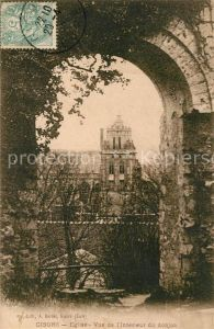 AK / Ansichtskarte Gisors Eure Eglise Vue de l'Interieur du donjon Kat. Gisors