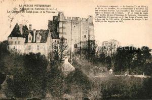 AK / Ansichtskarte Nogent le Rotrou Le Chateau de Salat Jean et la Terrasse Ouest Kat. Nogent le Rotrou