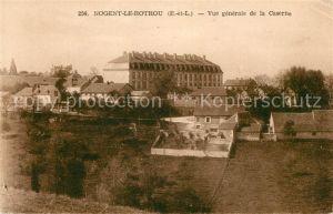 AK / Ansichtskarte Nogent le Rotrou Vue generale de la Caserne Kat. Nogent le Rotrou